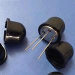 Fresnelova čočka 10 mm černá