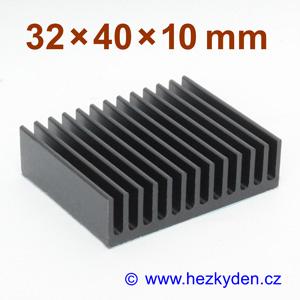 Hliníkový chladič samolepicí 32x40mm