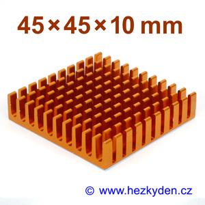 Hliníkový chladič samolepicí 45x45mm