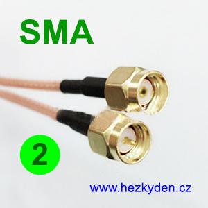 Kabel SMA - SMA - 2