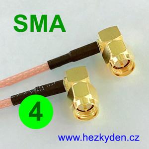 Kabel SMA - SMA - 4
