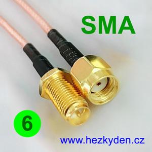 Kabel SMA - SMA - 6