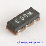 Keramický rezonátor 6 MHz SMD