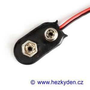 Klips pro baterii 9V