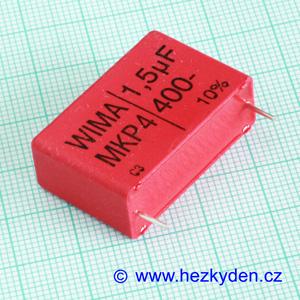 Kondenzátor 1,5µF 400V WIMA MKP4