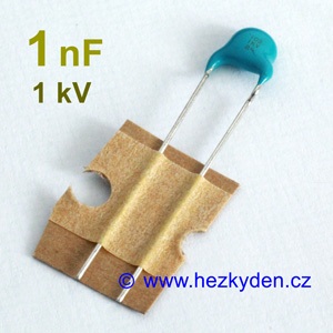 Kondenzátor 1nF 1kV
