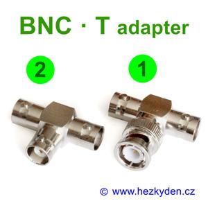 Konektor BNC T adapter