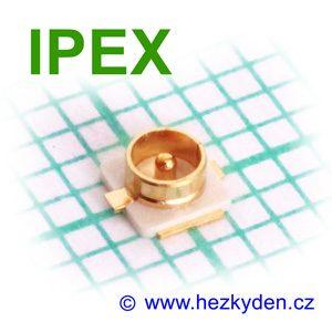 Konektor Hirose IPEX SMD