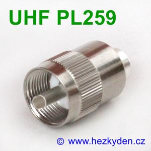 Konektor UHF PL259 na kabel