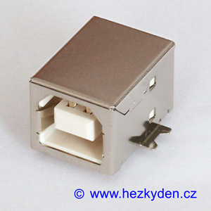 Konektor USB B SMD DPS