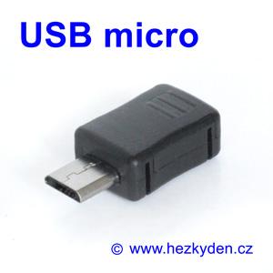 Konektor USB micro na kabel