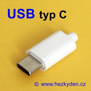Konektor USB typ C na kabel