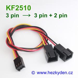 Konektory KF2510 rozdvojka