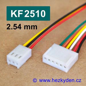Konektory KF2510 s kabelem