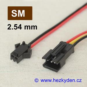 Konektory SM2.54mm s kabelem