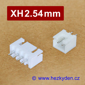 Konektory XH2.54mm s kabelem do DPS