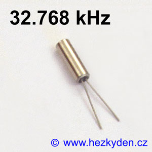 Krystal 32.768 kHz