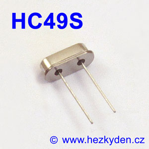 Krystaly pouzdro HC49S