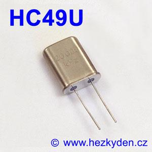 Krystaly TESLA pouzdro HC49U