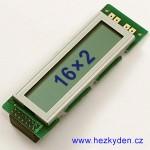 LCD modul WD-C1602L-7gnna