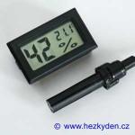 LCD vlhkoměr teploměr