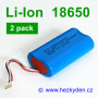 Li-Ion 18650 2pack 2100mah