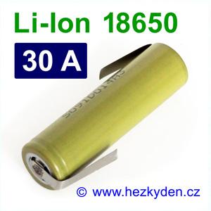 Li-Ion baterie 18650 LG HB4 1500 mAh