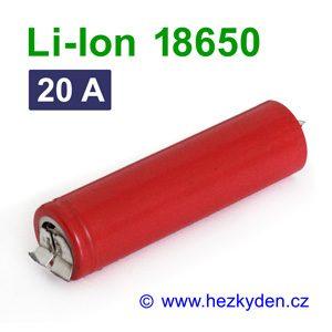 Li-Ion baterie 18650 LG 2500mAh
