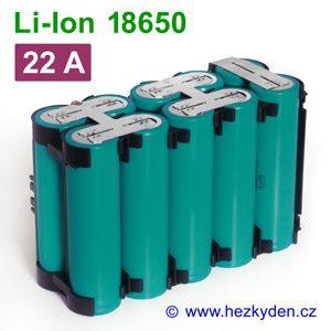 Li-Ion baterie 18650 Samsung 2000mAh INR18650-20R 10pack