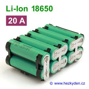 Li-Ion baterie 18650 Samsung 2500 mAh INR18650-25r