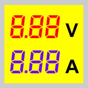 Měřáky kombinované 2x3 místa
