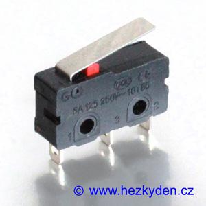 Mikrospínač MSW12 - 5A 250V AC