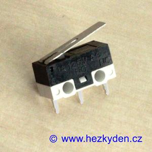 Mikrospínač MSW22 - 1A 125V AC