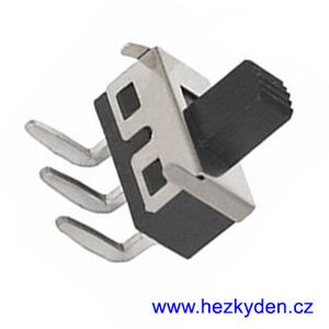Mini přepínač 2 polohy CLICK - 3