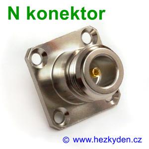 N konektor do panelu