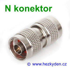 N konektor spojka - typ 1