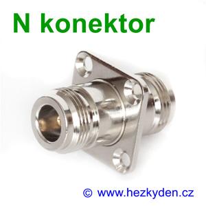 N konektor spojka - typ 2