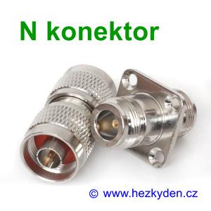 N konektor spojka rovná