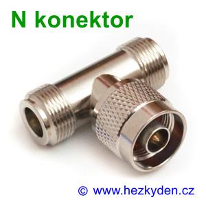 N konektor - T adapter - typ 1