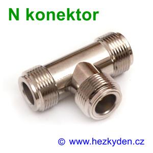 N konektor - T adapter - typ 2