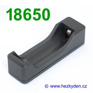 Nabíjecí pouzdro pro baterie 18650