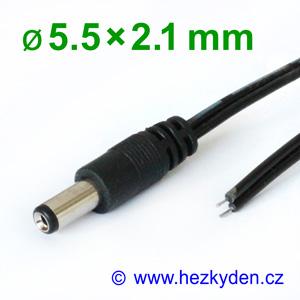 Napájecí konektor s kabelem