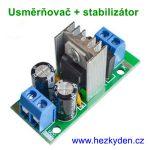 Napájecí modul - usměrňovač stabilizátor