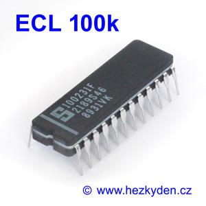 Signetics ECL 100k - pouzdro CerDIP24
