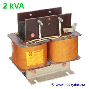 Oddělovací transformátor 2kVA