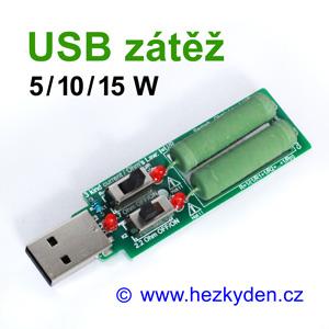 Odporová USB zátěž