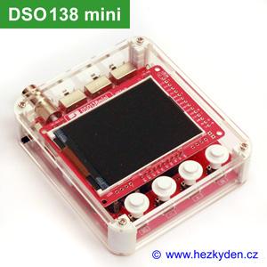 Osciloskop DSO138 mini - komplet