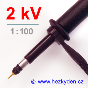 Osciloskopická sonda 2kV 1:100