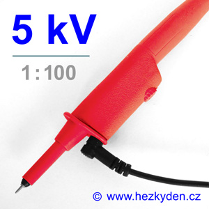 Osciloskopická sonda 5 kV