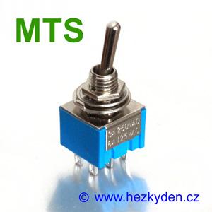 Páčkový přepínač MTS-202
